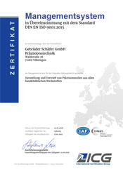 Zertifizierungen Moody Zertifikat deutsch